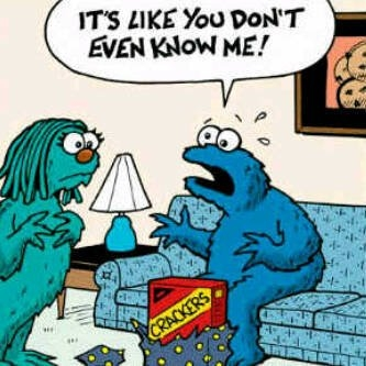 0 Sad Cookie Monster